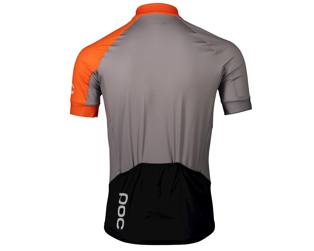 Image 2 for Poc Essential Road Jersey (Granite Grey/Zink Orange) (L)