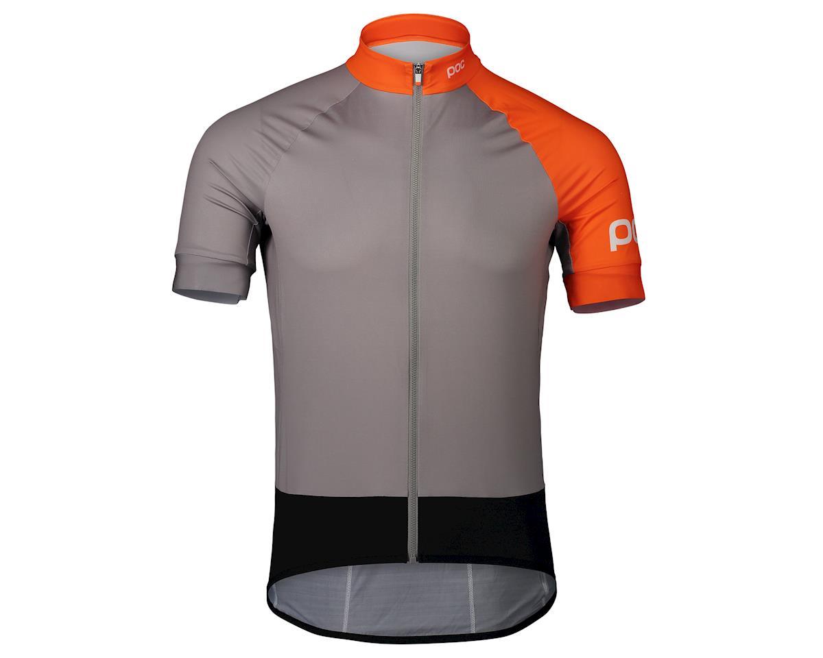 Poc Essential Road Jersey (Granite Grey/Zink Orange) (M)