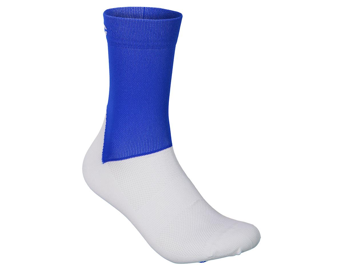 Poc Essential Road Sock (Light Azurite Blue/Hydrogen White) (S)