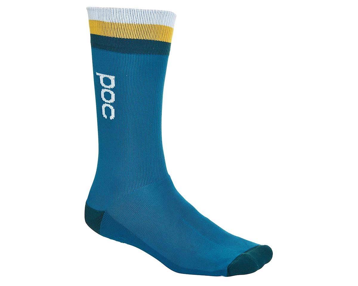 Poc Essential Mid Length Sock (Cubane Multi Blue) (L)