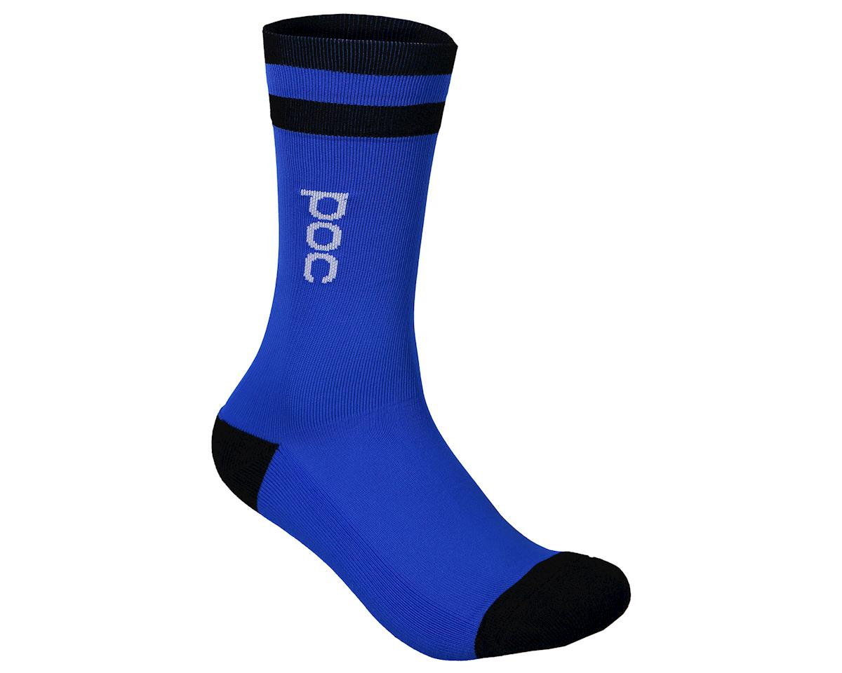 Poc Essential Mid Length Sock (Azurite Multi Blue) (L)