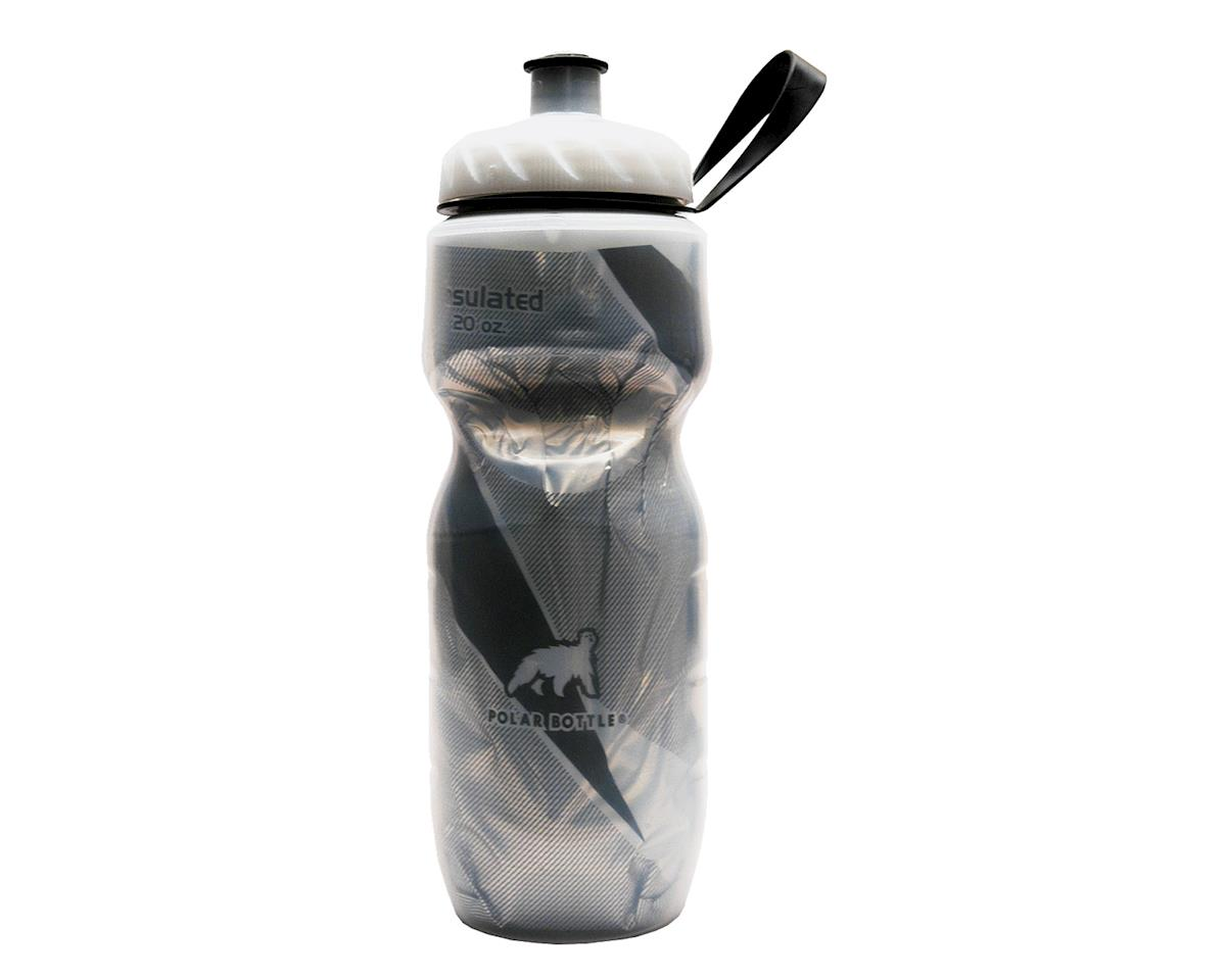 Polar Insulated 20oz Water Bottle - Pattern (Black)
