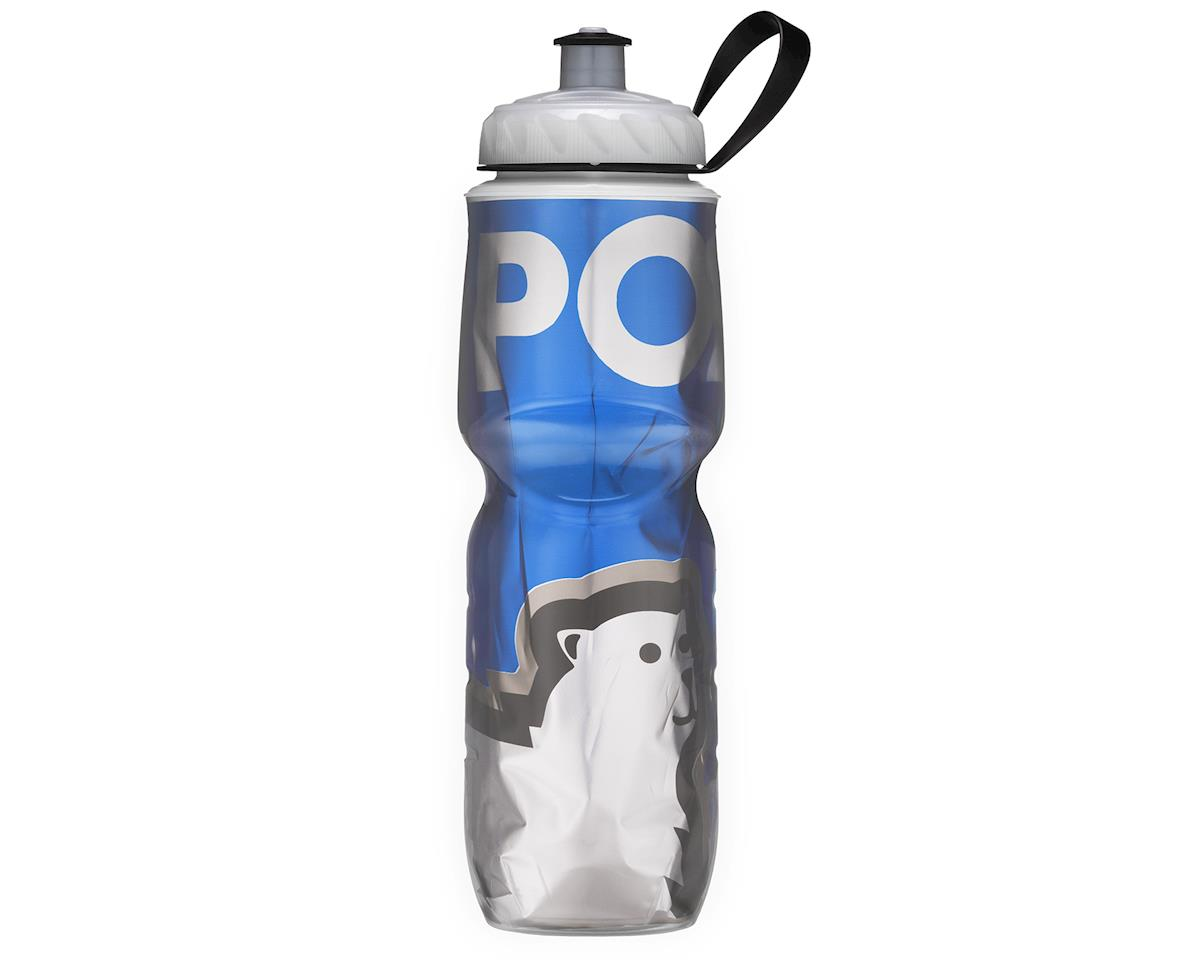 Insulated Sport 24oz Bottle (Blue/White)