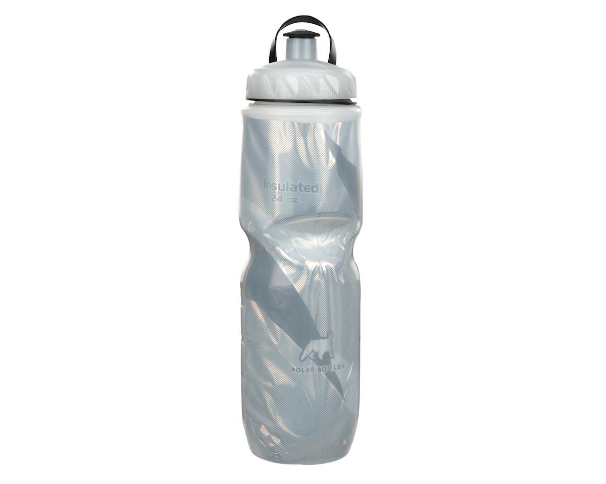 Polar Bottle Insulated Pattern Water Bottle (Black) (24oz)