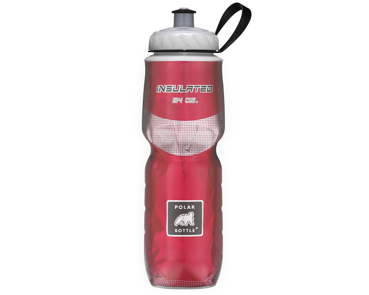 Polar Bottle Insulated Sport 24oz Bottle (Red)