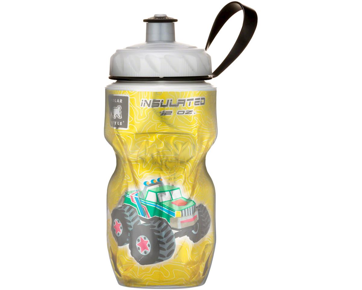 s Insulated Water Bottle: 12oz, Monster Truck