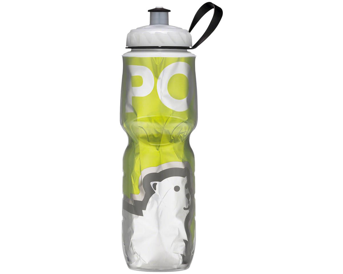 s Insulated Water Bottle: 24oz, Green Bear