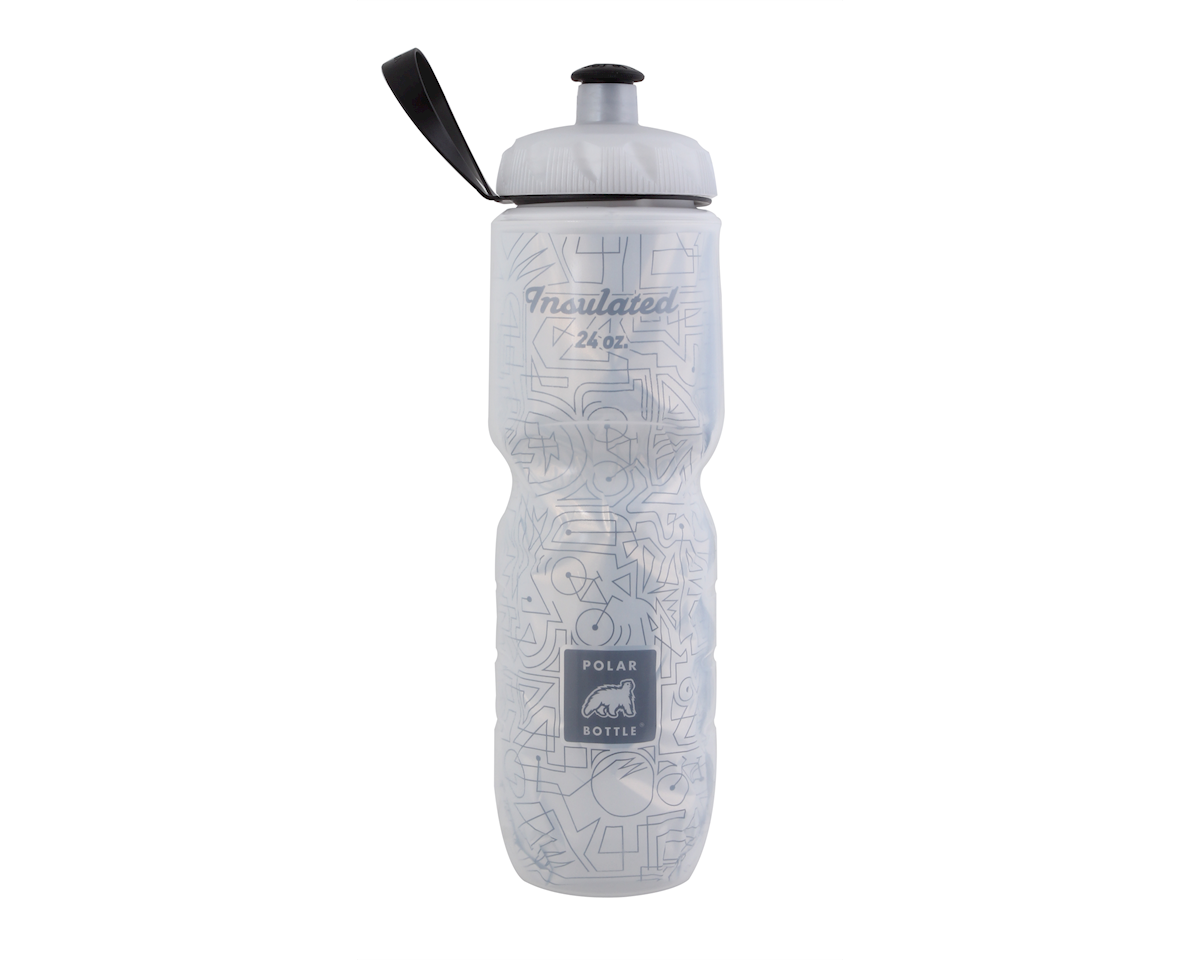 b8b8972102 Polar Bottle Insulated sport bottle, 24oz - Bike Lines [IB24GRBL ...