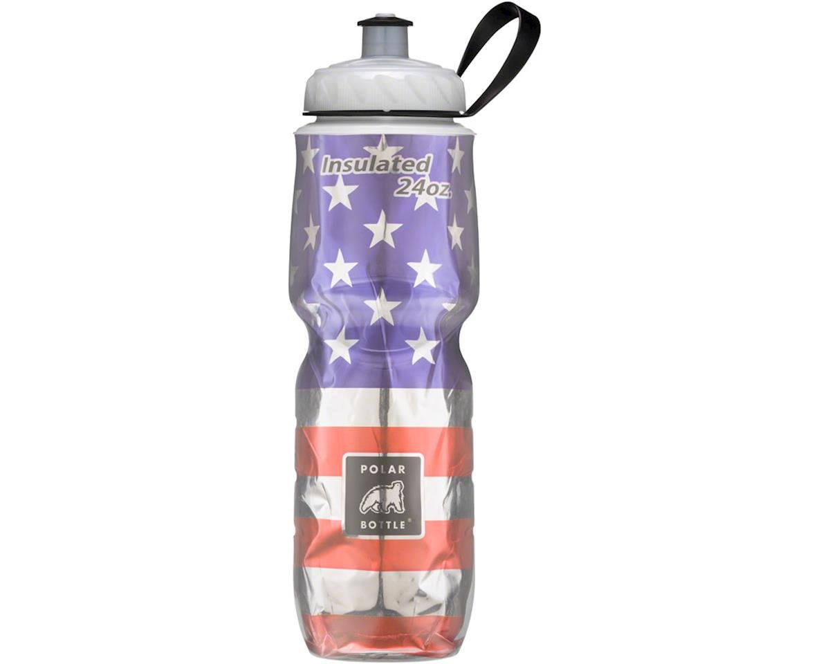 s Insulated Water Bottle: 24oz, Stars and Stripes