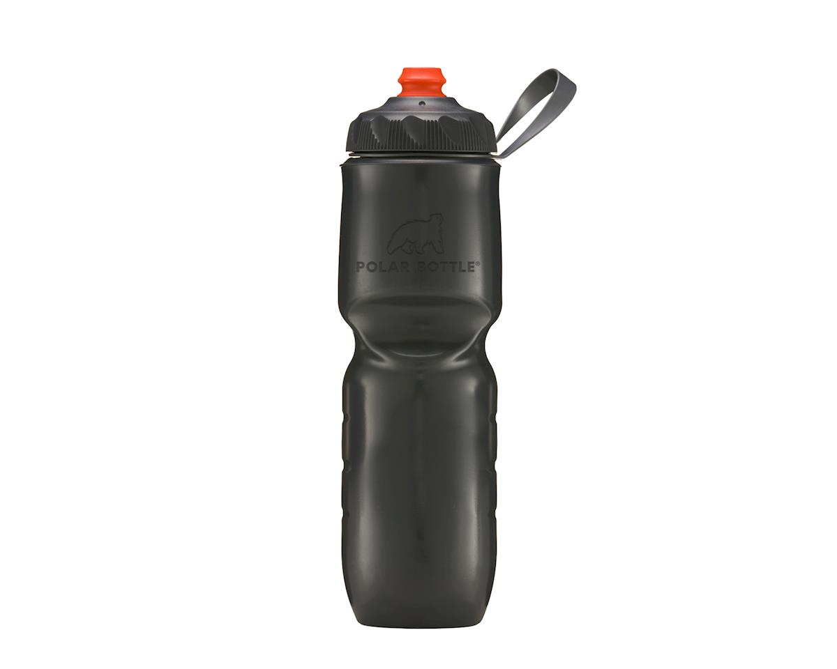 Polar ZipStream Color Series Water Bottle - 24oz (Charcoal)