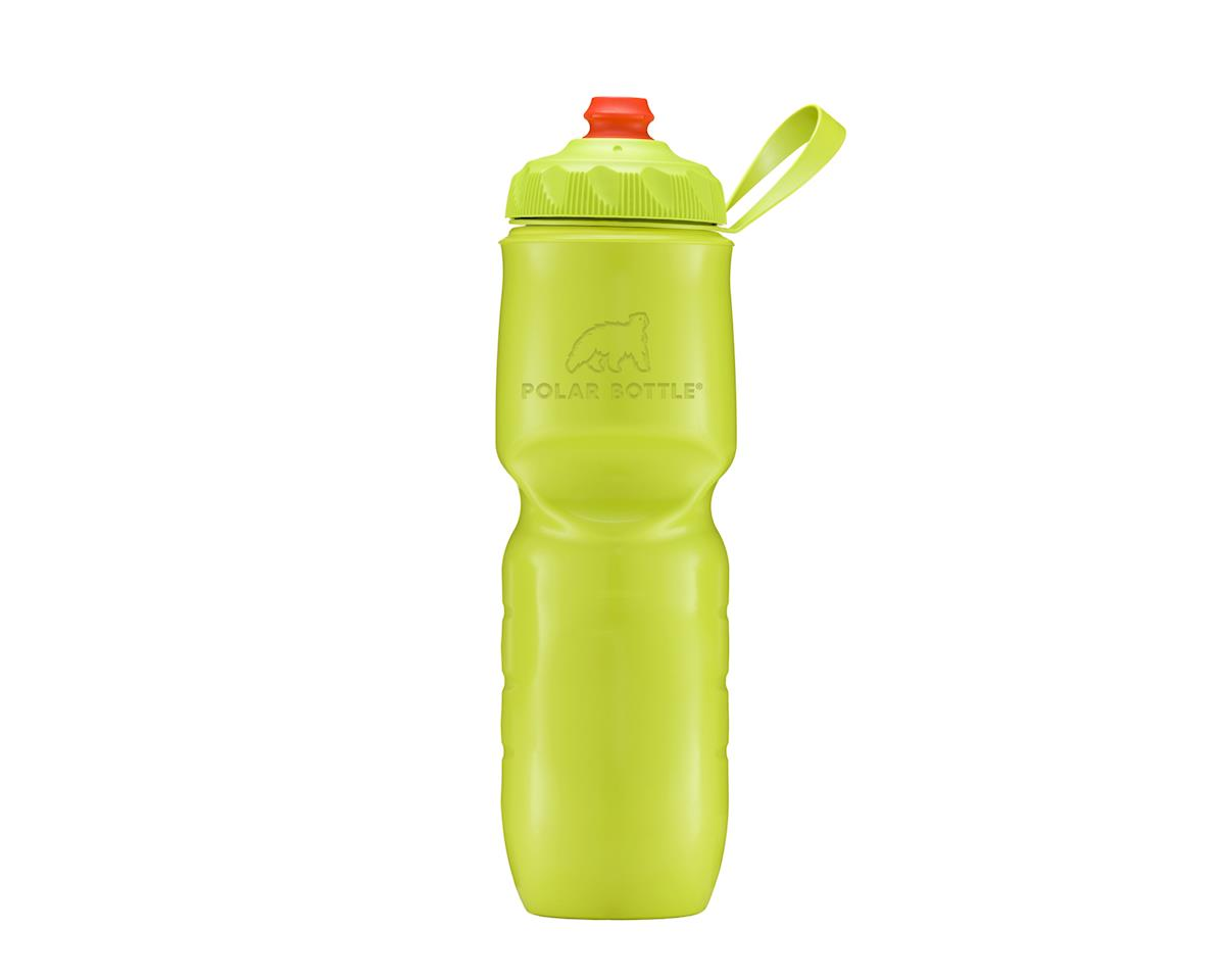 Polar ZipStream Color Series Water Bottle - 24oz (Kiwi)