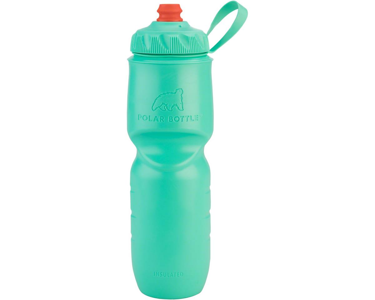 s Insulated Water Bottle with ZipStream Cap: 24oz, Mint