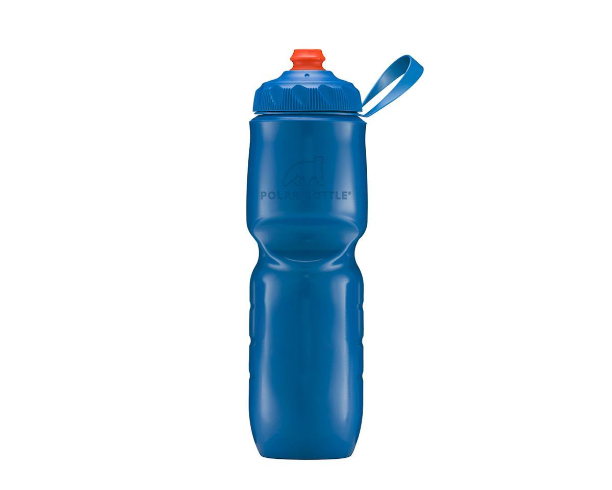 Insulated Zipstream bottle, 24oz - royal