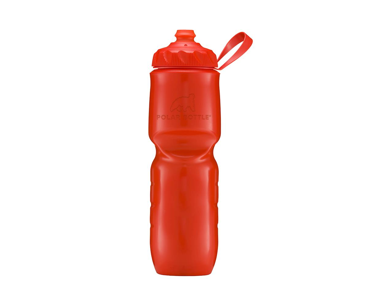 Polar ZipStream Color Series Water Bottle - 24oz (Tomato)