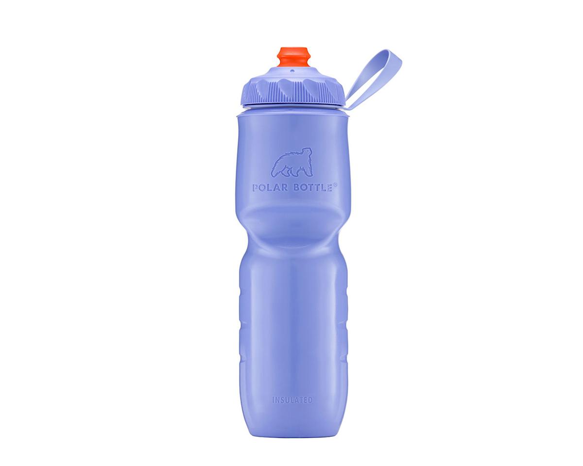 Insulated Zipstream bottle, 24oz - violet