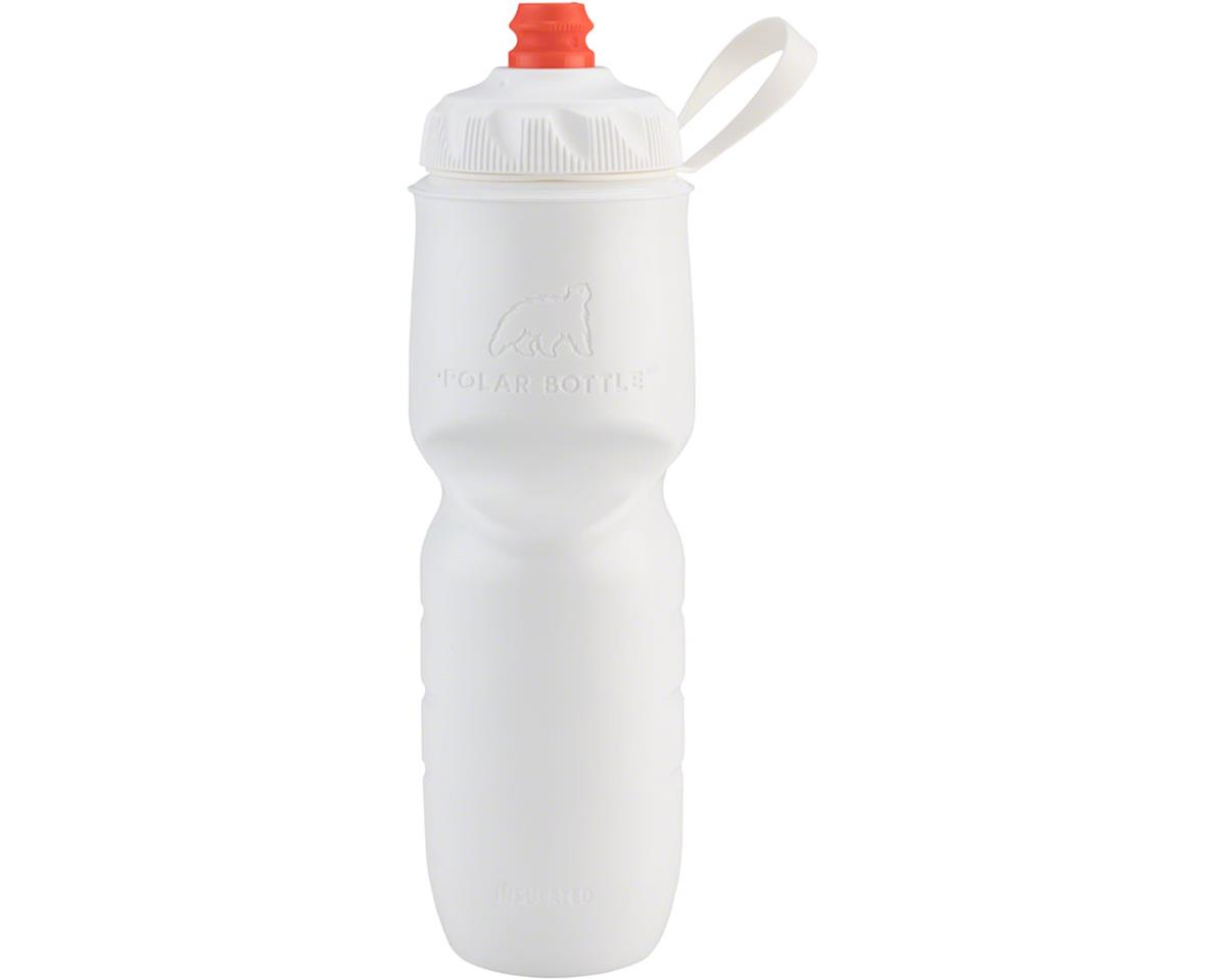 s Insulated Water Bottle with ZipStream Cap: 24oz, Snow