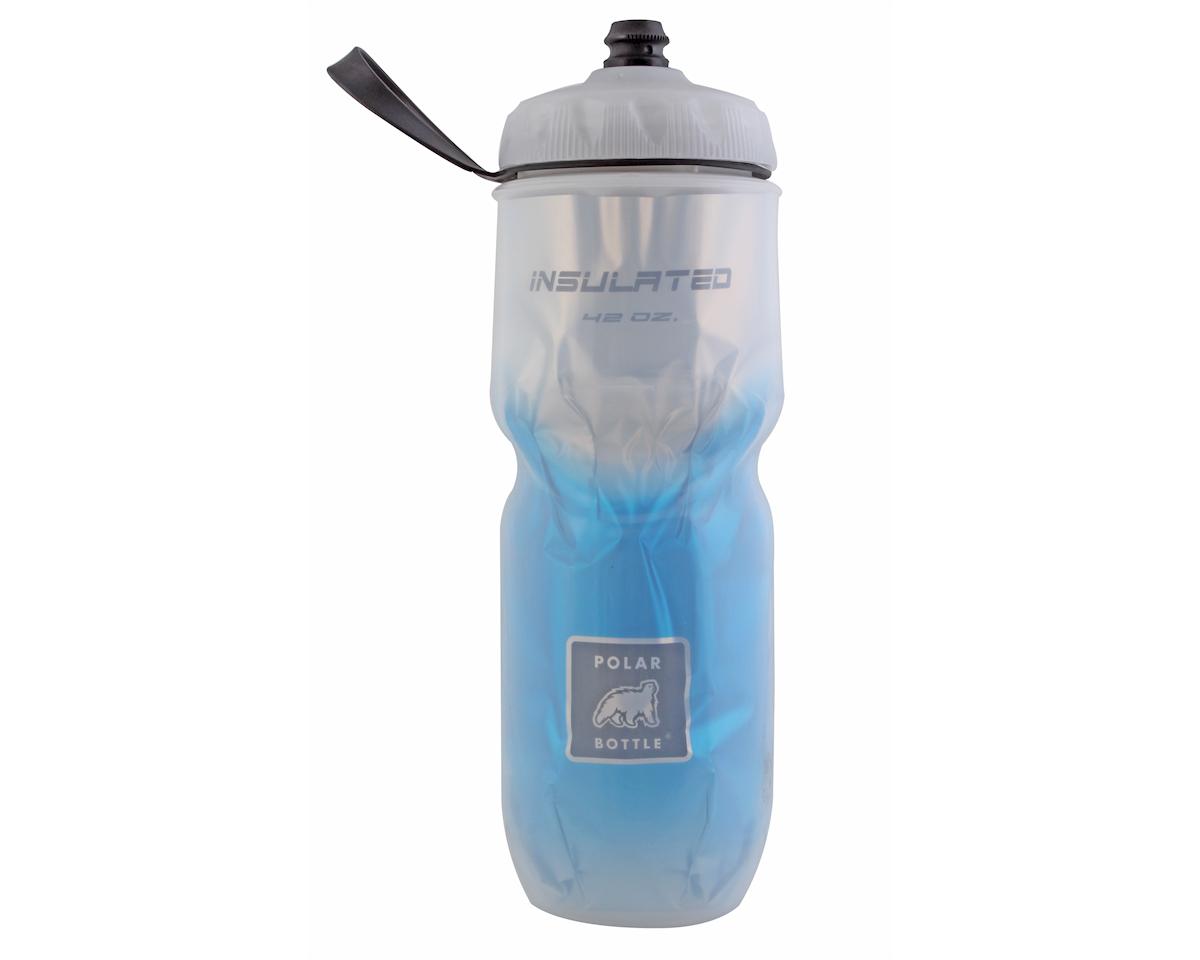 Insulated Big sport bottle, 42oz - blue fade