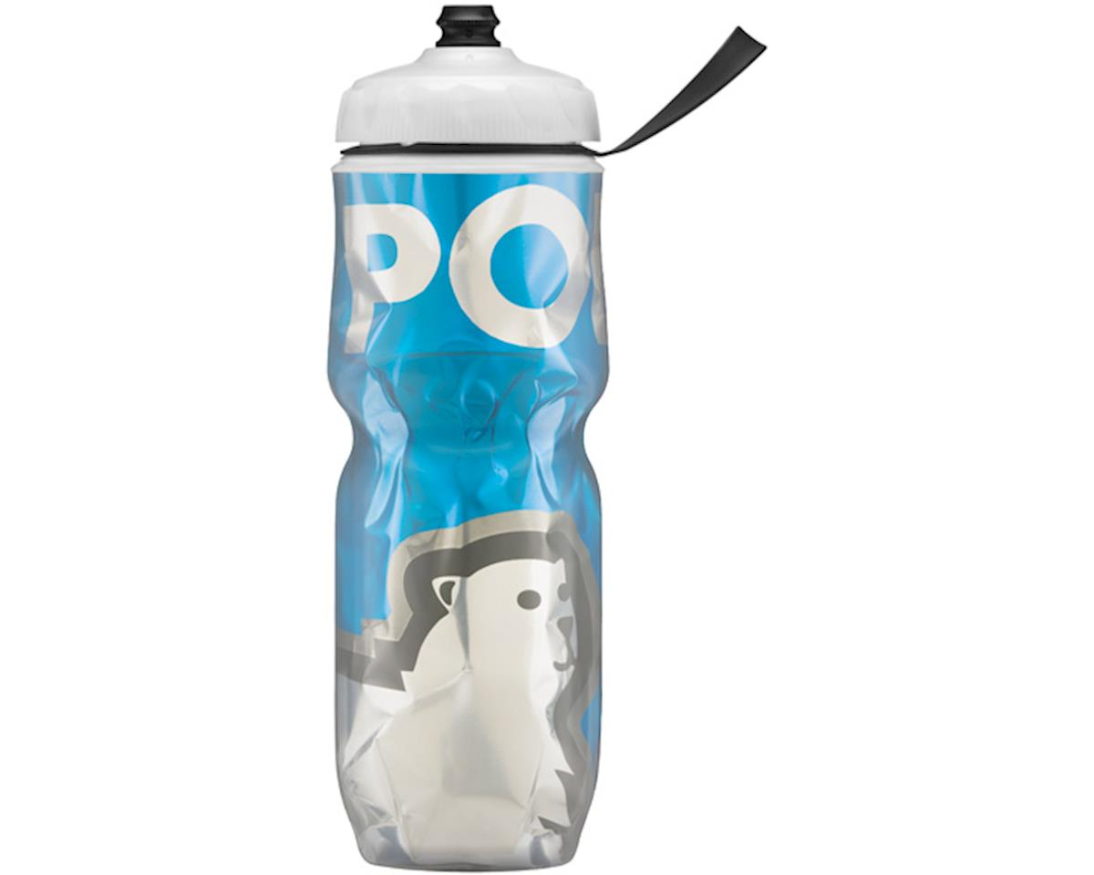 Insulated Big sport bottle, 42oz - Big Bear Blue