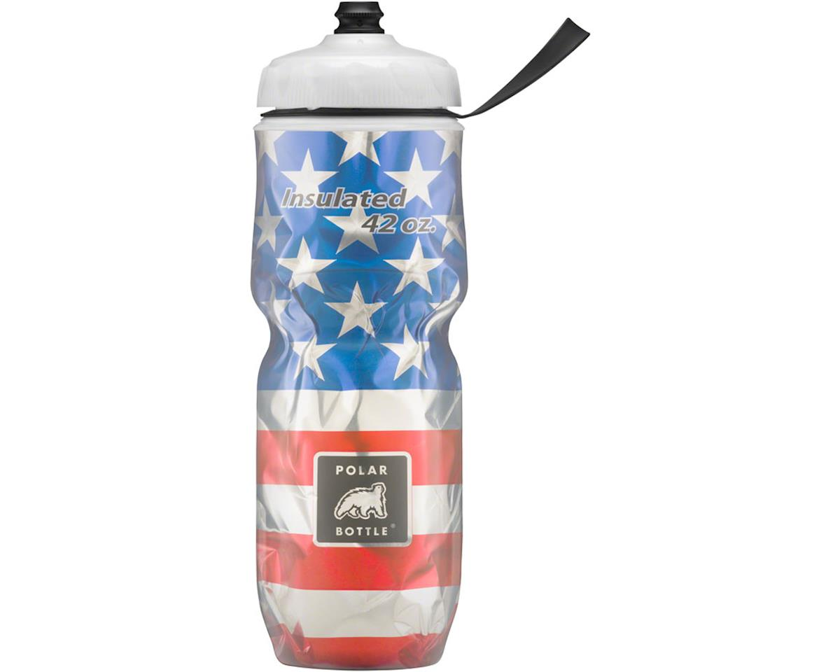Polar Bottle Insulated Big Sport Bottle (Star Spangled) (42oz)