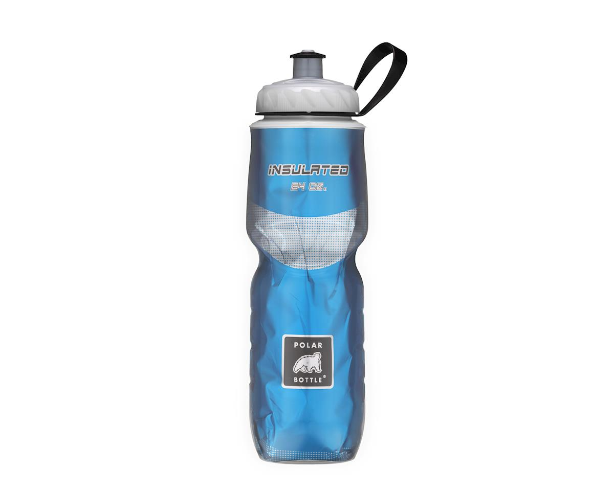 Polar Insulated Sport Water Bottle - 24oz (Chevron Black)