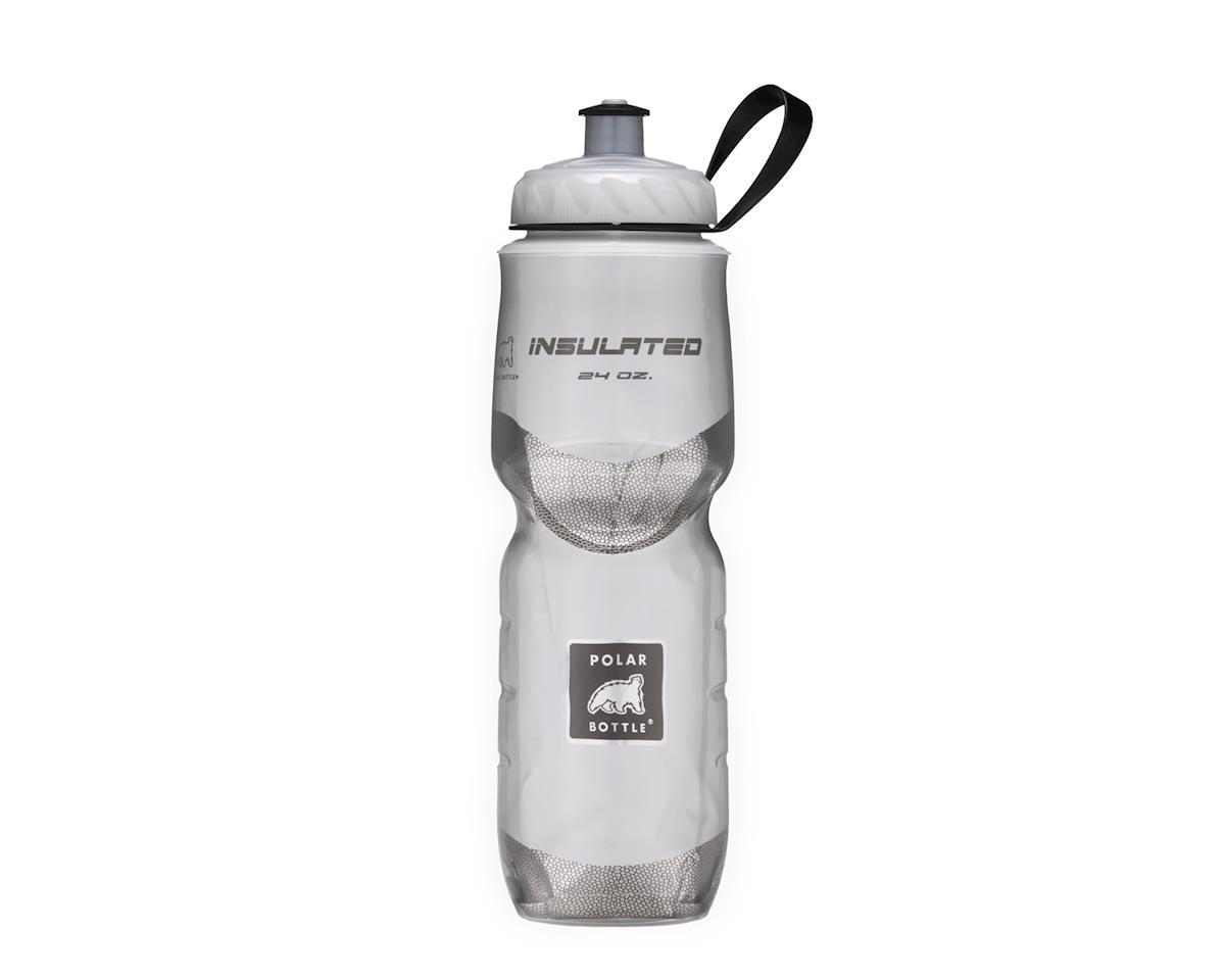 Image 2 for Polar Bottle Insulated Sport Water Bottle (Chevron Black) (24oz)