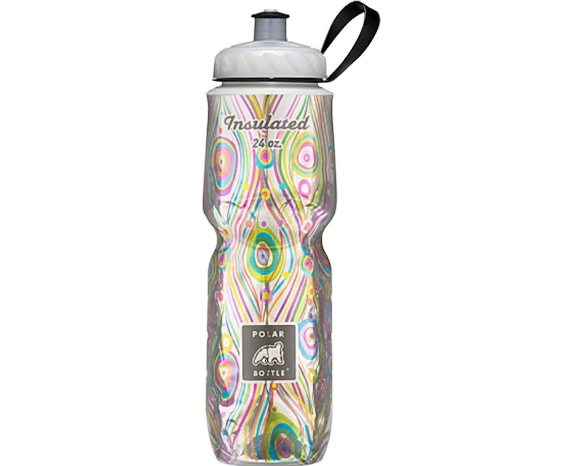 Polar Insulated Water Bottle: 24oz, Royal Peacock