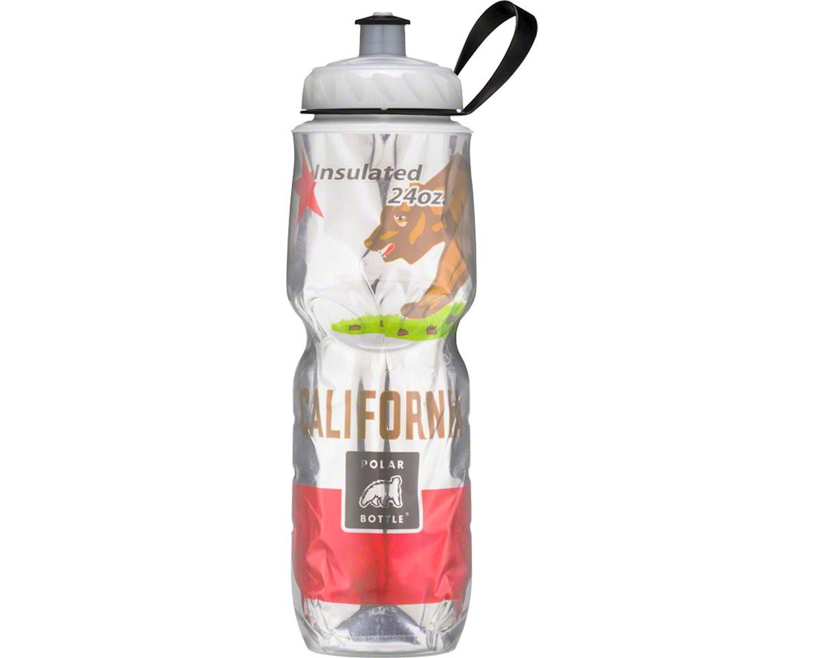 Polar Bottle Polar Insulated Water Bottle: 24oz, California State Flag