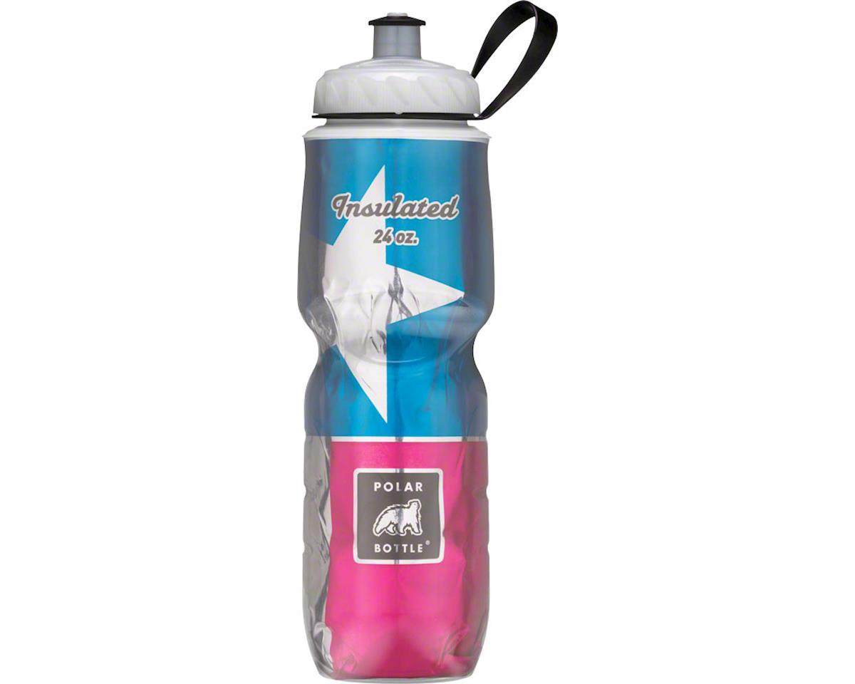 Polar Bottle Insulated Water Bottle (Texas State Flag) (24oz)