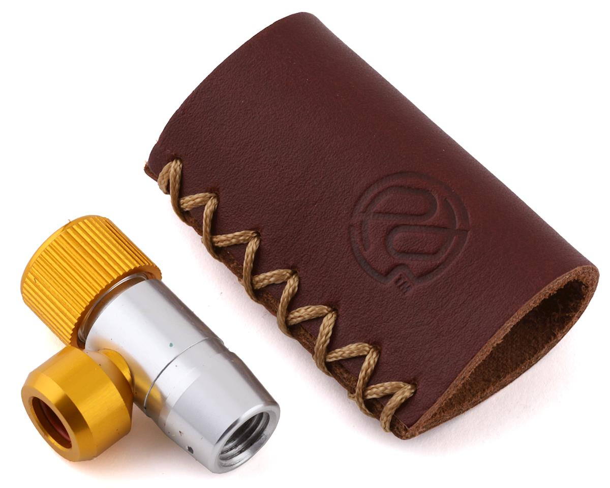 Portland Design Works Tiny Object CO2 Inflator with Leather C02 Holder | alsopurchased