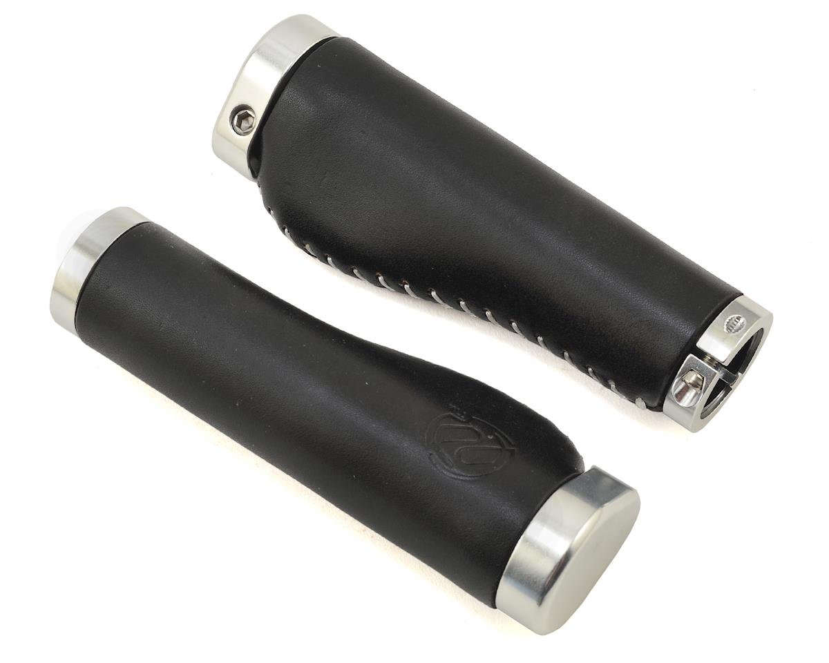 Whiskey Lock-On Grips (Black/Silver Clamp)