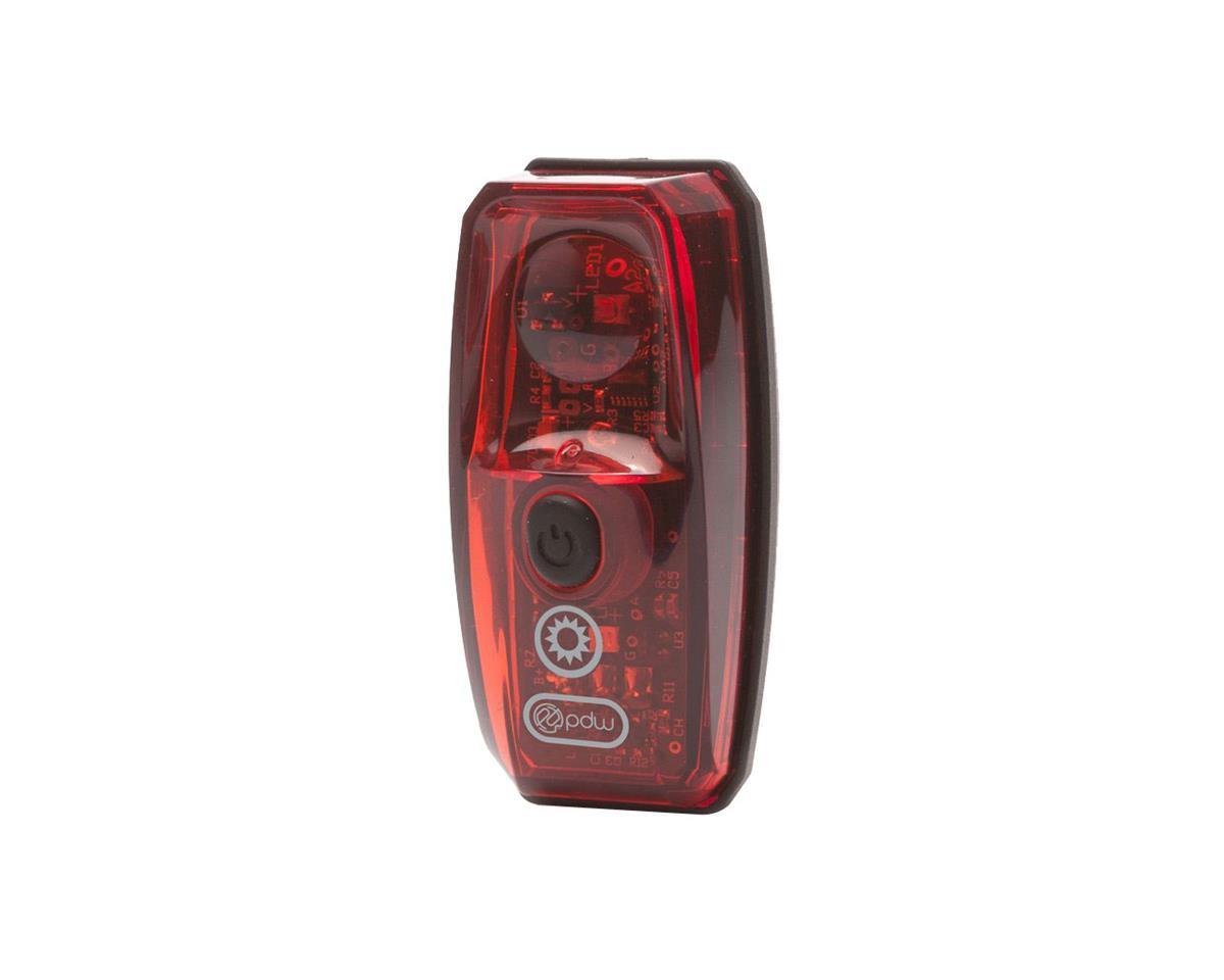 Black//Red Portland Design Works Pathfinder//Io USB Rechargeable Light Set