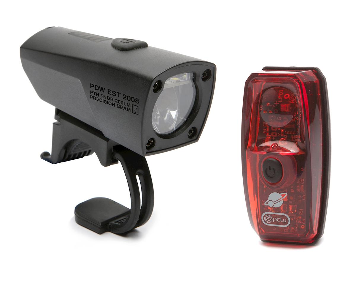 Portland Design Works Pathfinder Headlight and Io Taillight Set
