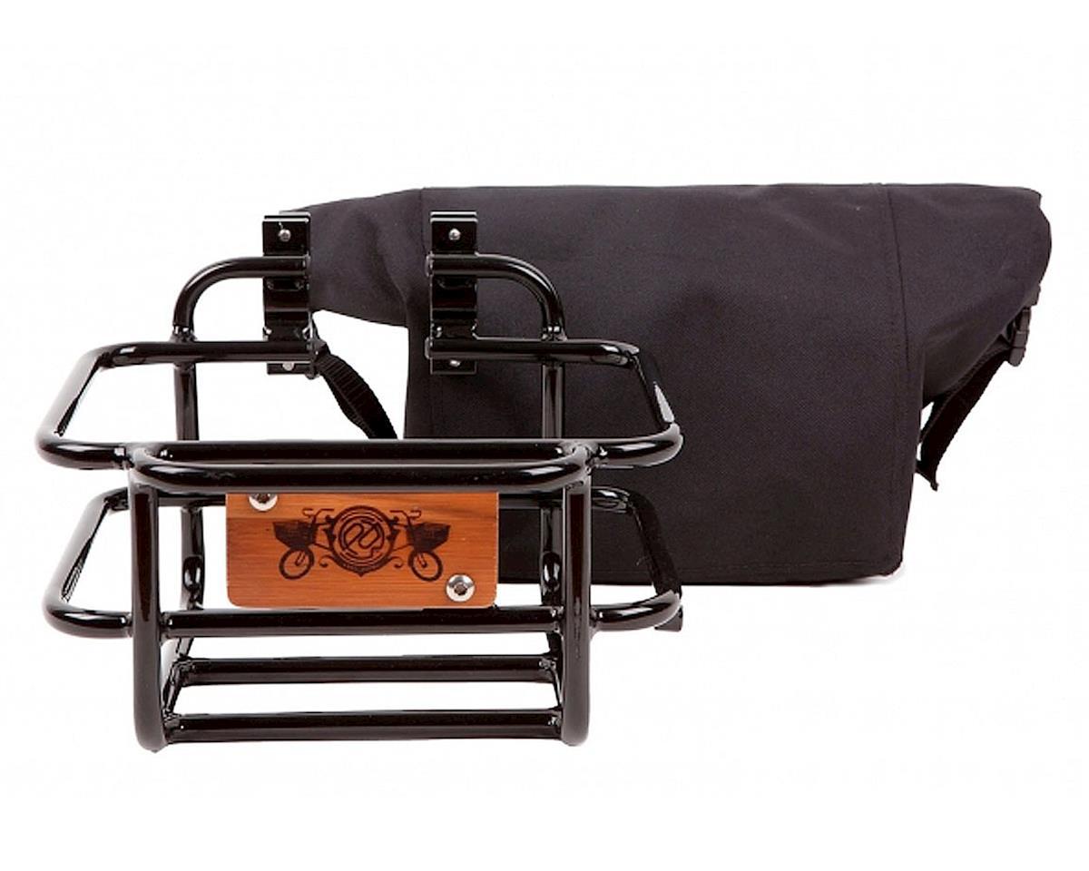 Portland Design Works Takeout Aluminum Front Basket (Black)