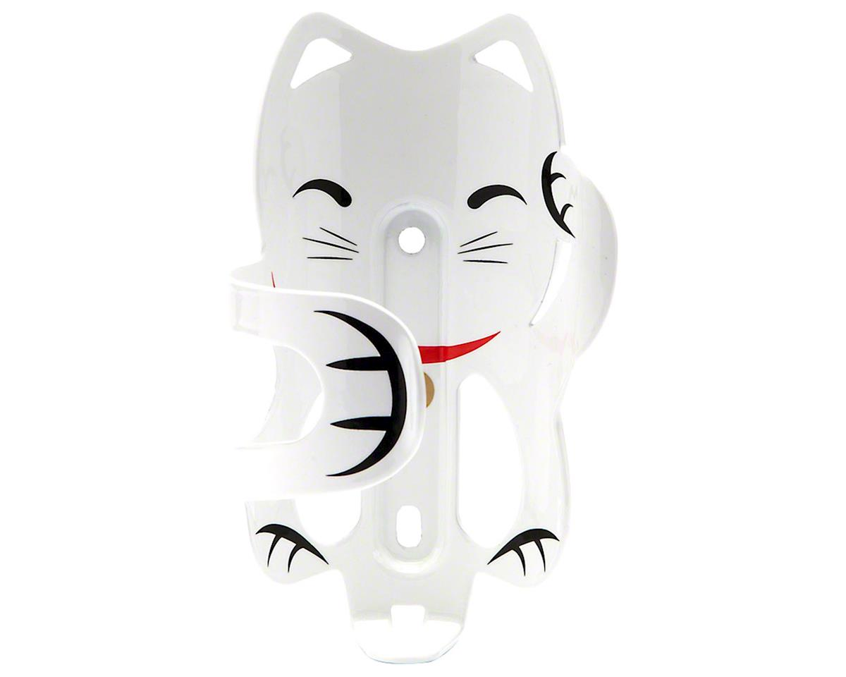 Portland Design Works The Lucky Cat Bottle Cage (White)