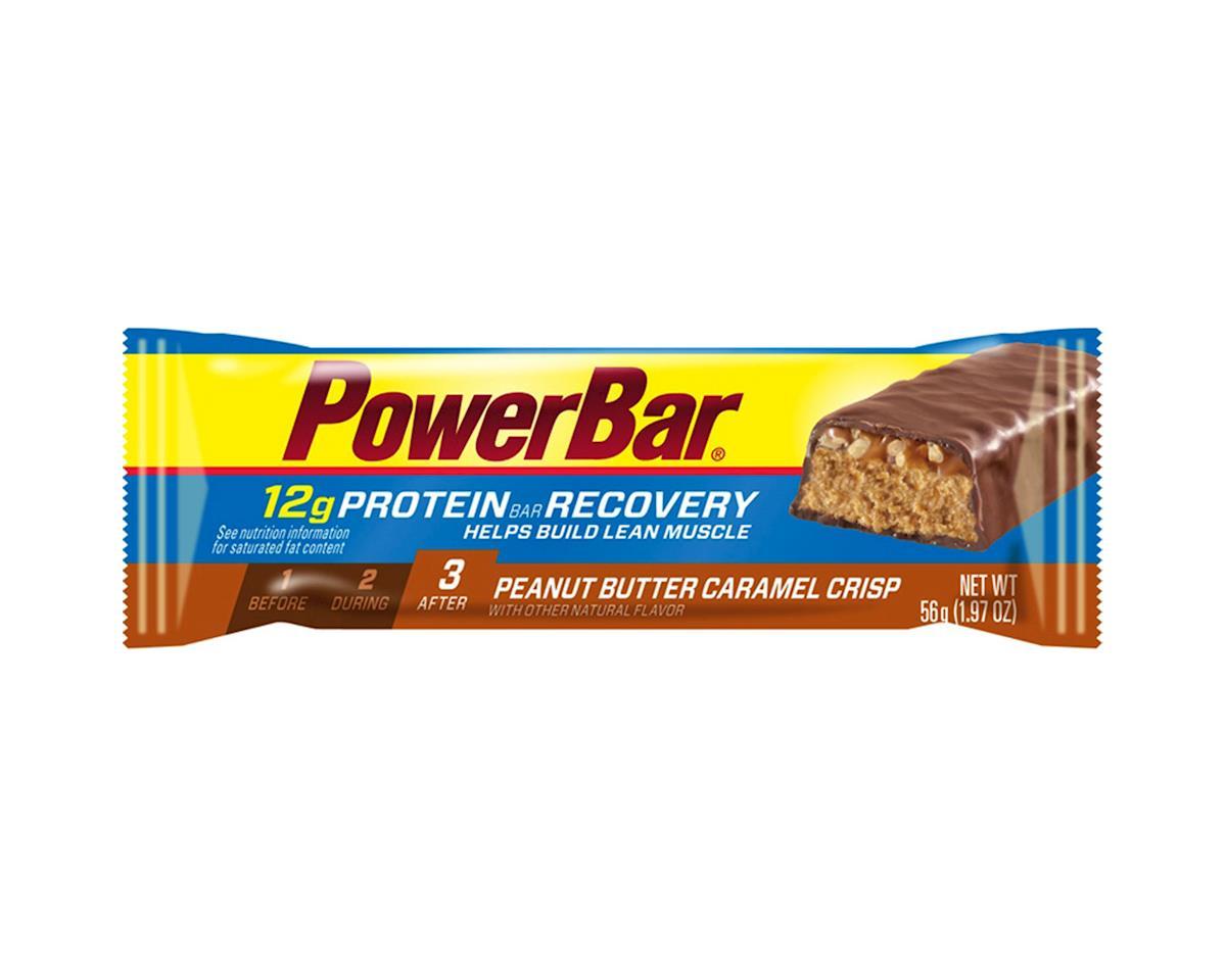 Powerbar Food Pwb Bar Protein Snack Peanut Butter Caramel Crisp Bxof15