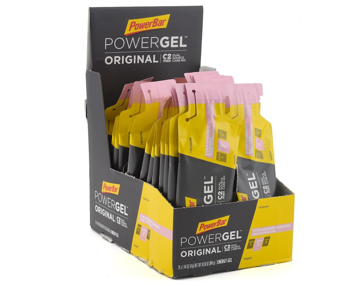 Powerbar PowerGel Original (Strawberry Banana) (24 1.44oz Packets)