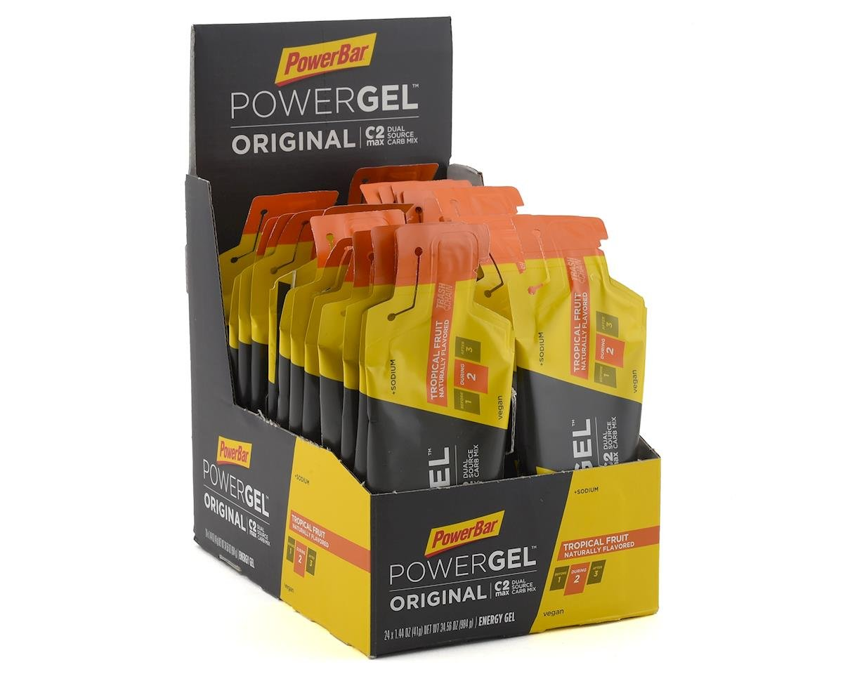 Powerbar PowerGel Original (Tropical Fruit) (24 1.44oz Packets)