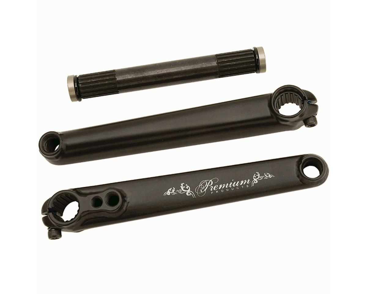 Premium 16-S V2 Cranks (Black) (175mm)