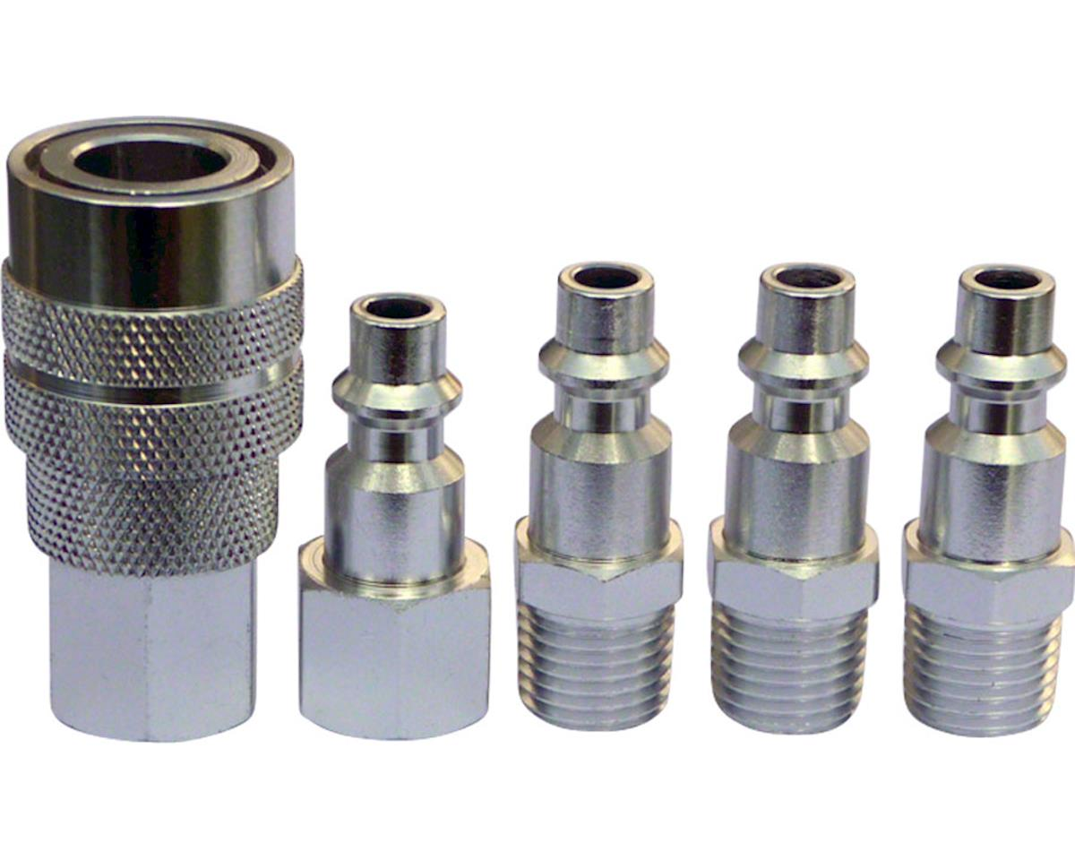 Prestacycle Industrial/Mechanical Alloy Coupler Kit With 4 Plugs