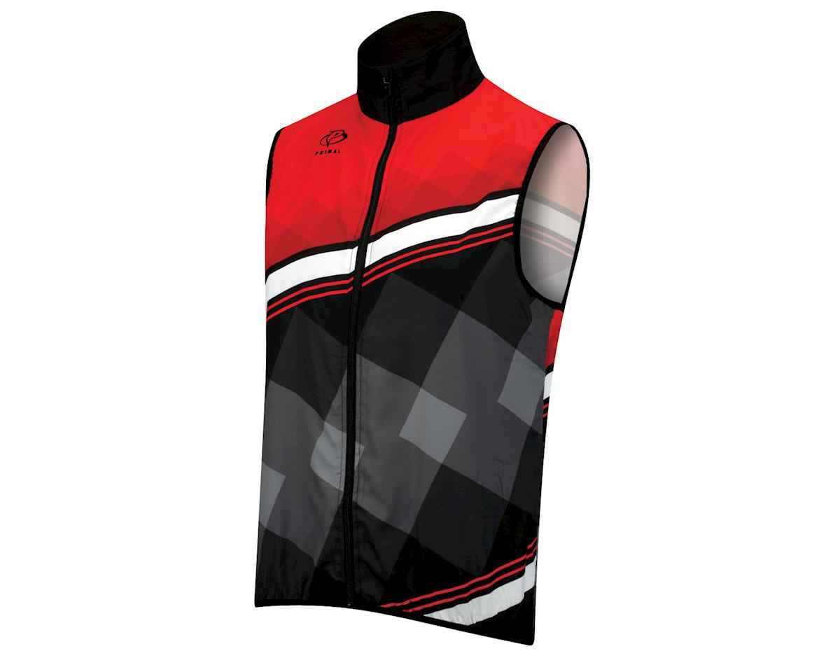 Primal Wear Teton Wind Vest (Black/Red)
