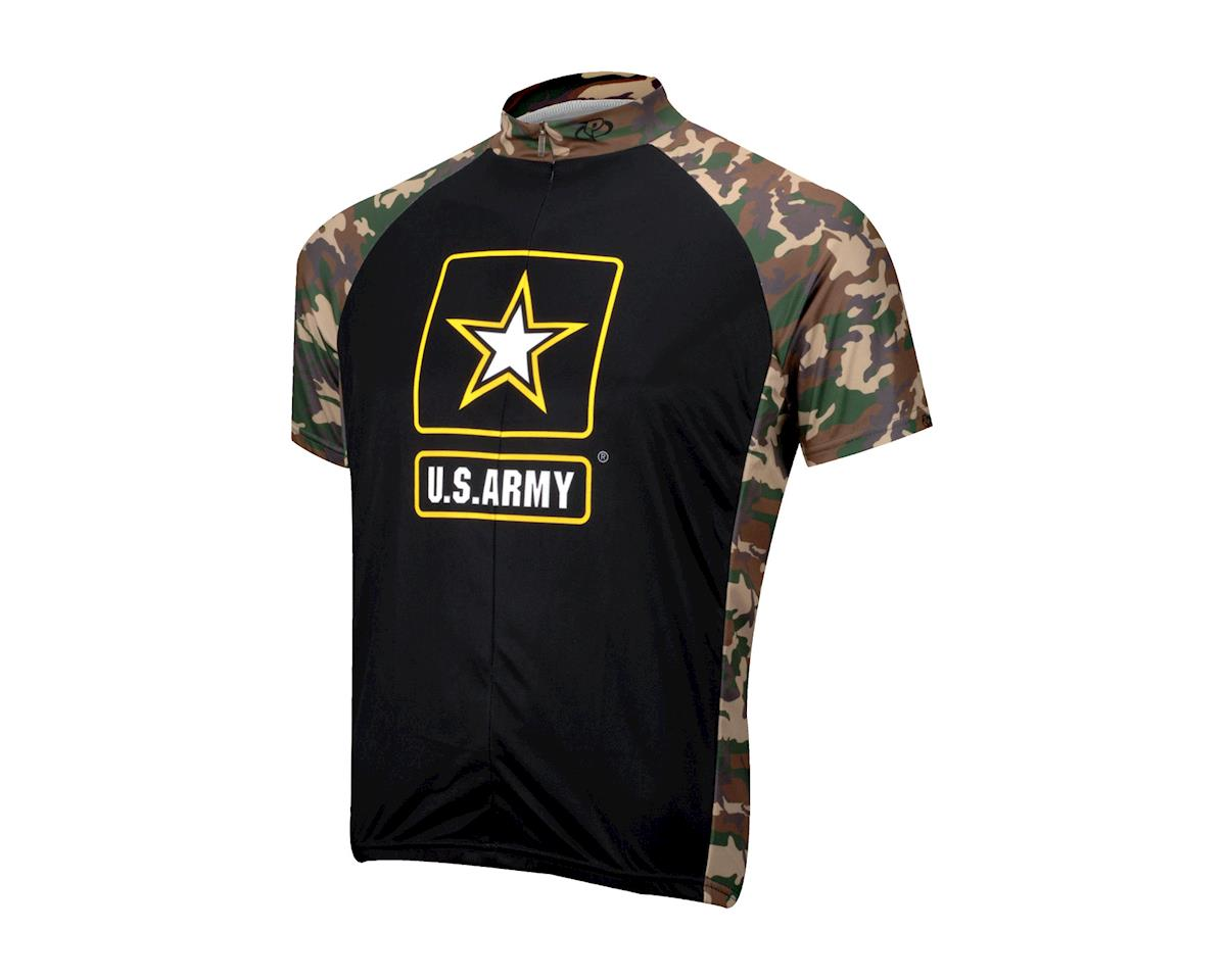 Primal Wear U.S. Army Ambush Short Sleeve Jersey (Black / Green)