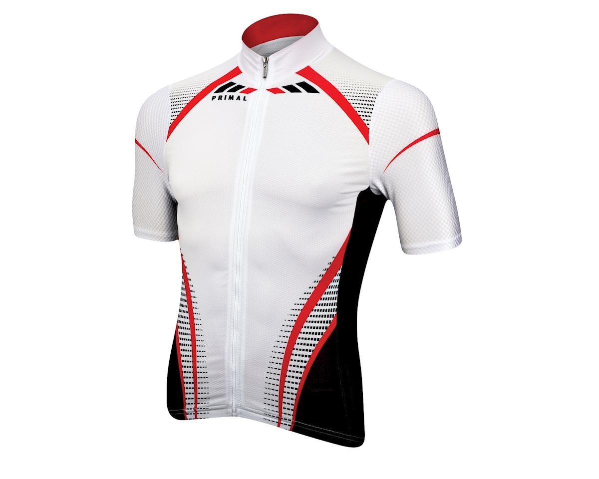 Primal Wear Leverage Helix Short Sleeve Jersey (White)