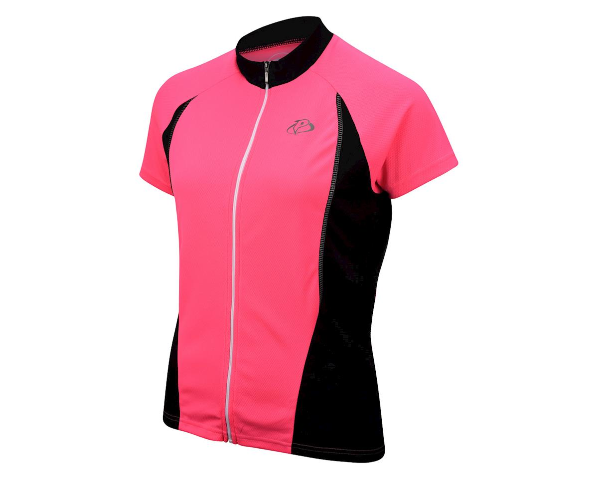 Image 1 for Primal Wear Women's HiViz V1 Short Sleeve Jersey (Pink) (Xsmall)