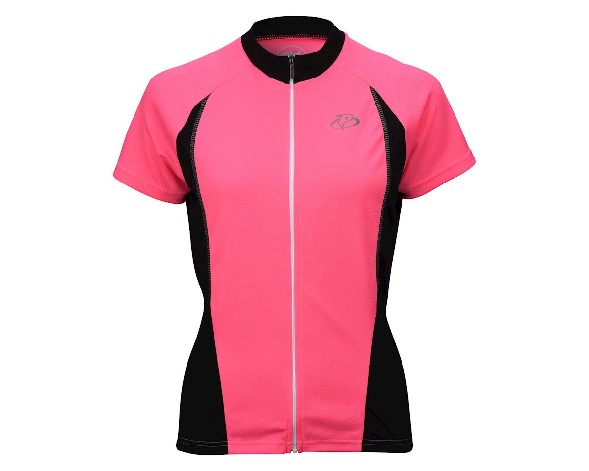 Image 3 for Primal Wear Women's HiViz V1 Short Sleeve Jersey (Pink) (Xsmall)