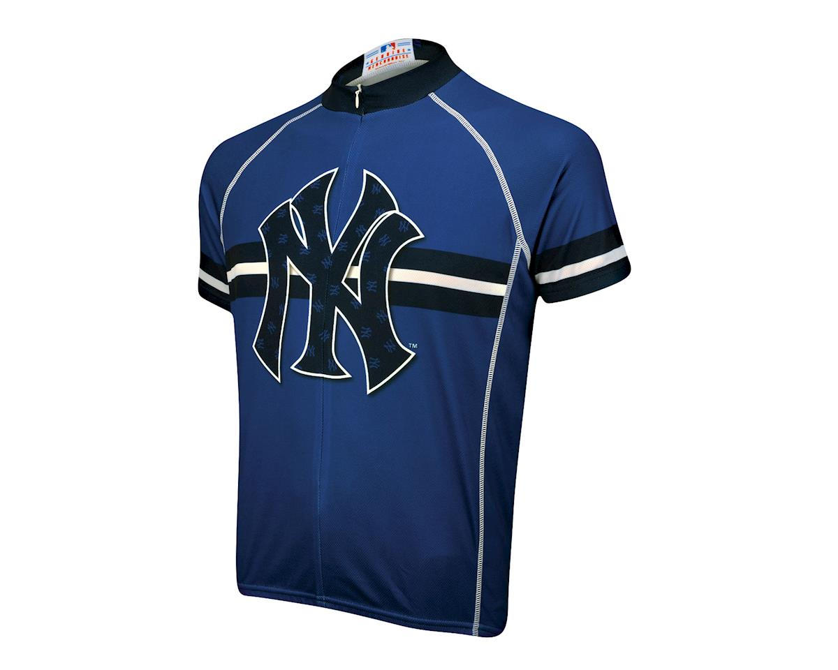Primal Wear New York Yankees Modern Short Sleeve Jersey (Blue)