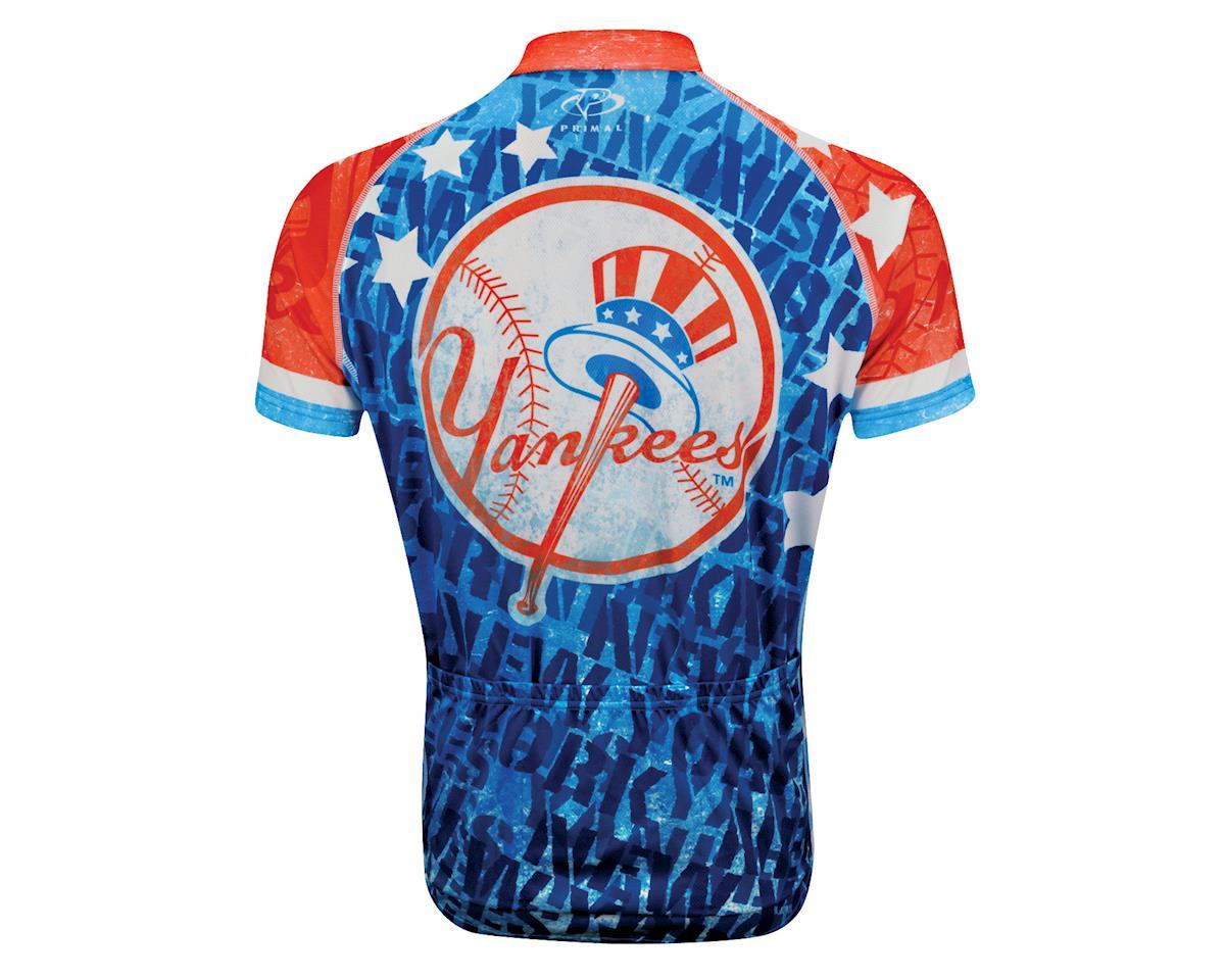 Primal Wear New York Yankees Vintage Short Sleeve Jersey (Red)