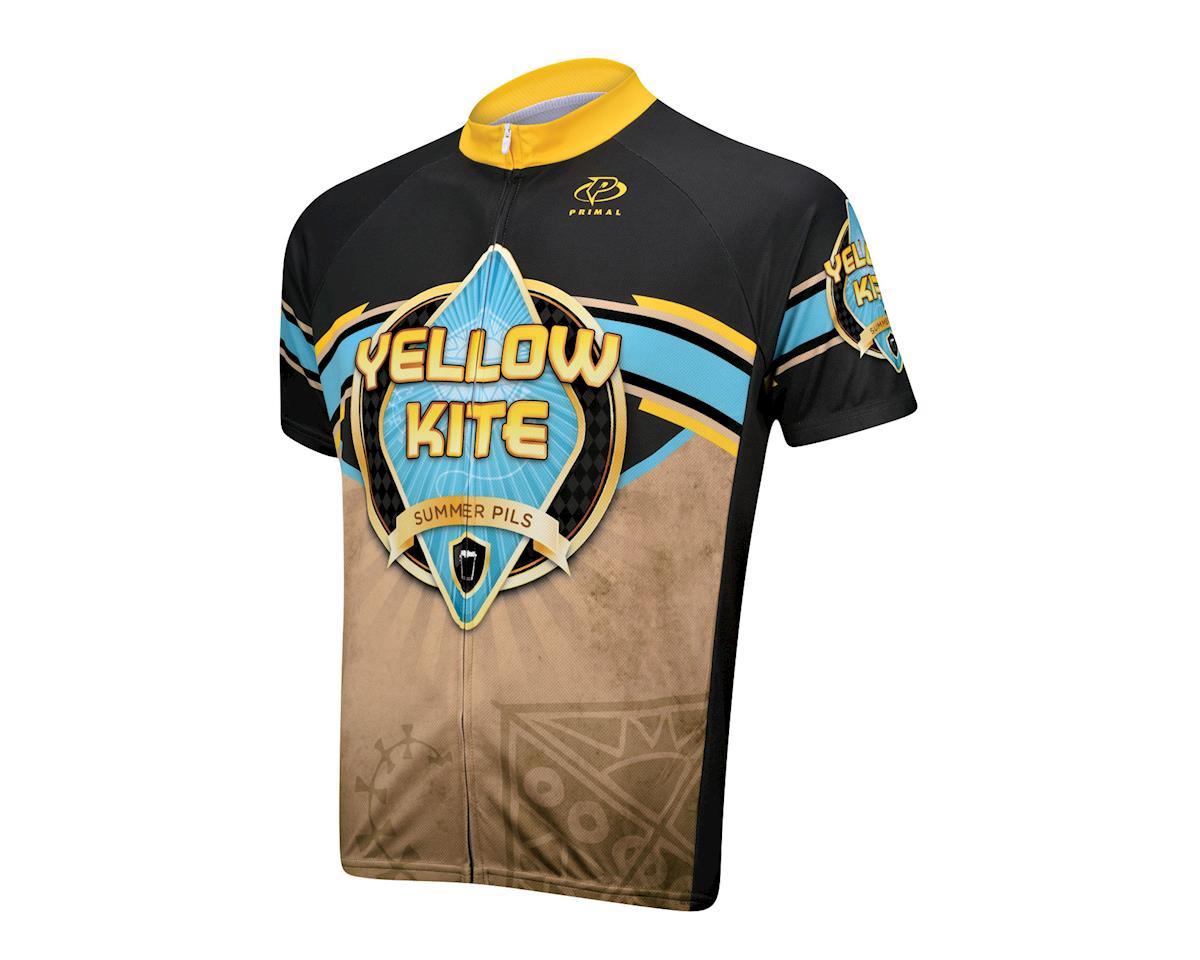Primal Wear Yellow Kite Summer Short Sleeve Jersey - Closeout (Brown)