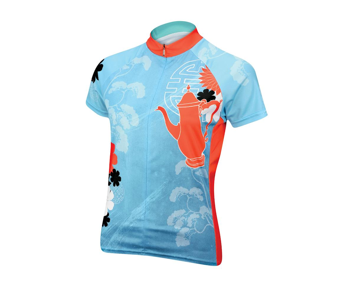 Primal Wear Tea Time Women's Short Sleeve Jersey - Closeout (Aqua) (Xsmall)