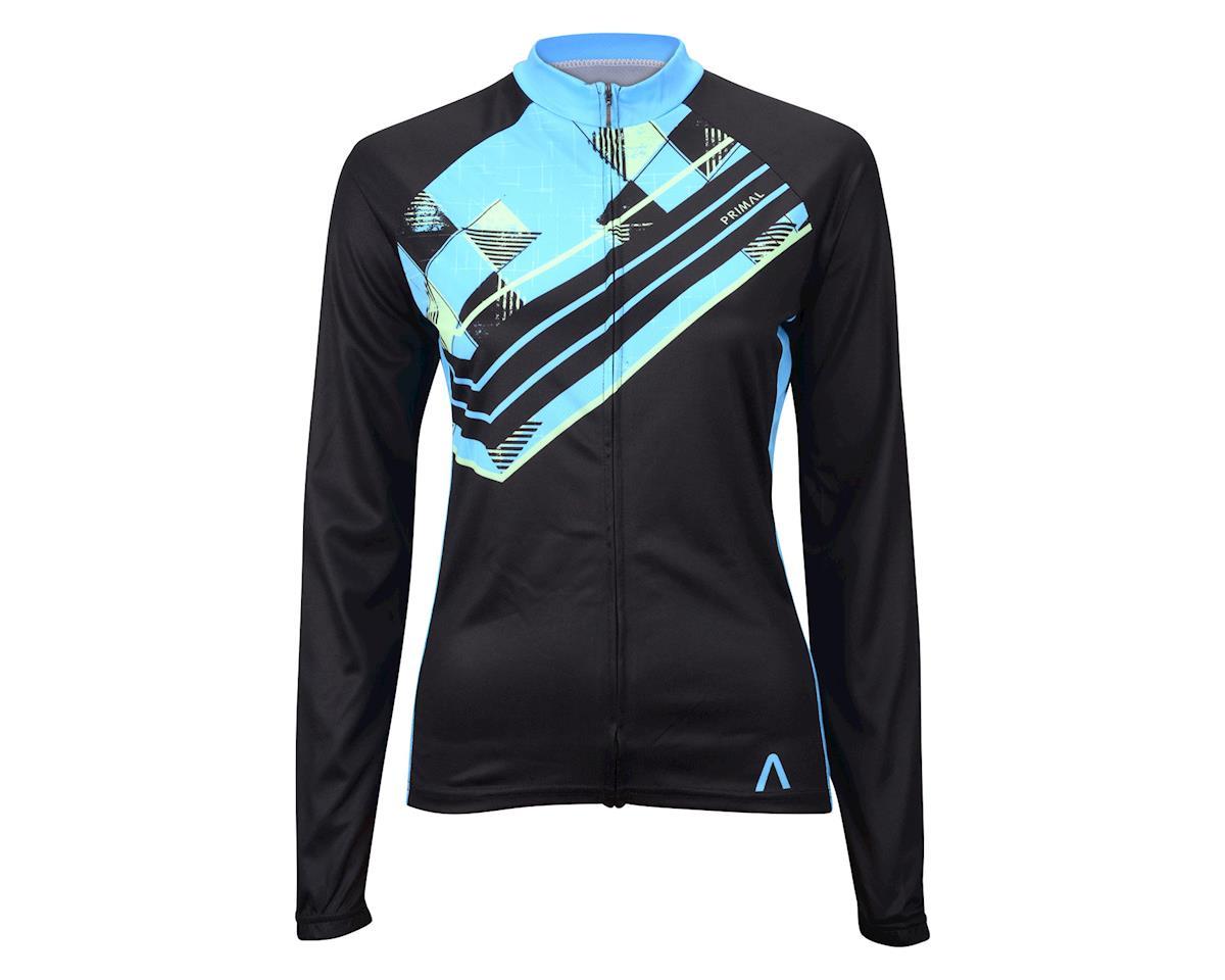 Primal Wear Women's Fontina Long Sleeve Jersey (Blue)
