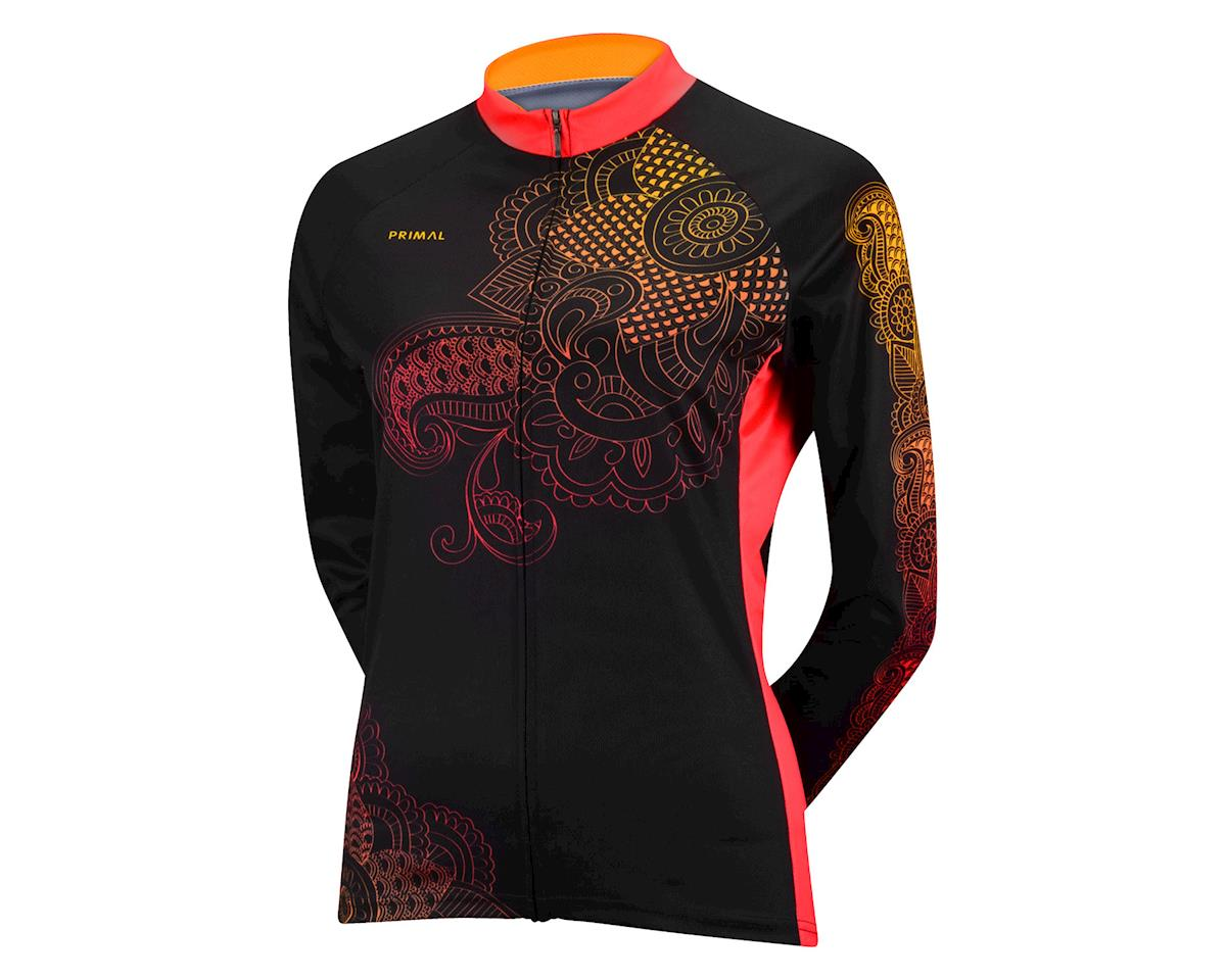 Primal Wear Women's Kashmir Long Sleeve Jersey - Performance Exclusive (Black/Pink)